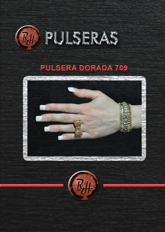 [1600x1200] PULSERA DORADA 709