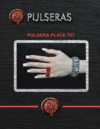 [1600x1200] PULSERA PLATA 707