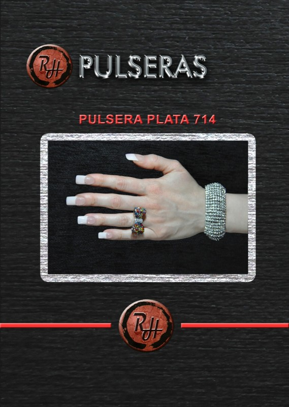 [1600x1200] PULSERA PLATA 714