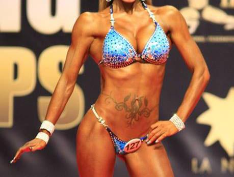 dieta competición bikini fitness
