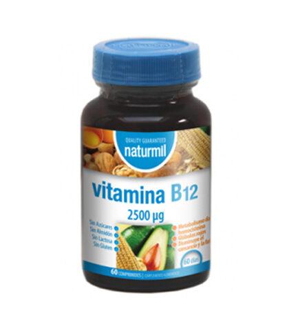 vitamina-b12-2500-mcg-naturmil-60-comprimidos